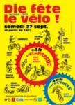 Affiche fête du vélo à Die